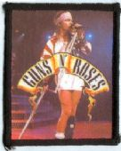 Guns N'Roses - 'Axl on Stage' Printed Patch